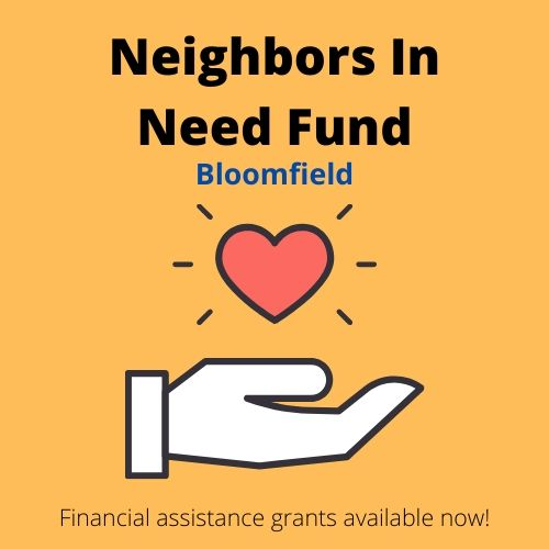 Neighbors In Need Fund Bloomfield